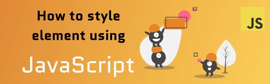 styling element using javascript